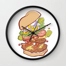 Hamburger Time Wall Clock