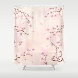 Cherry Blossom Dream Shower Curtain