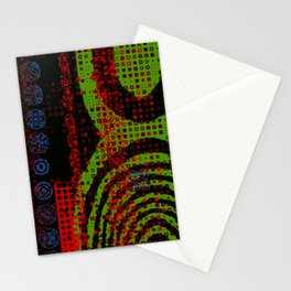 Glitch Art 1: Addicted to Power Stationery Cards