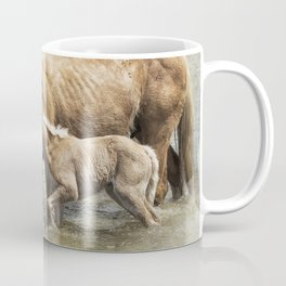 Safe By Mother's Side - South Steens Mustangs Coffee Mug