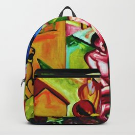 The Dream by Franz Marc Backpack