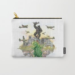 Godzilla vs King Kong  in tokyo ? Carry-All Pouch