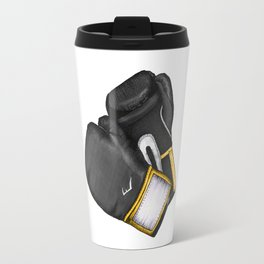For the love of Boxing // BLACK & YELLOW Travel Mug
