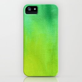GreenGlow iPhone Case