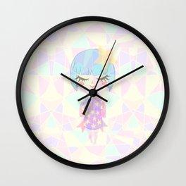 Starry Girl Wall Clock