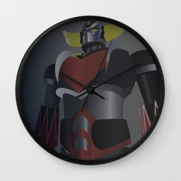 UFO Robot Goldrake Wall Clock