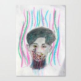 Chanyeol in Wonderland Canvas Print