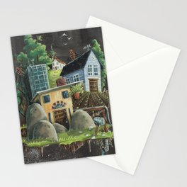 Isolated Chaos Stationery Cards