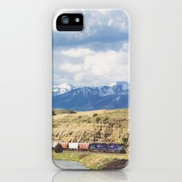 Along the Yellowstone iPhone Case