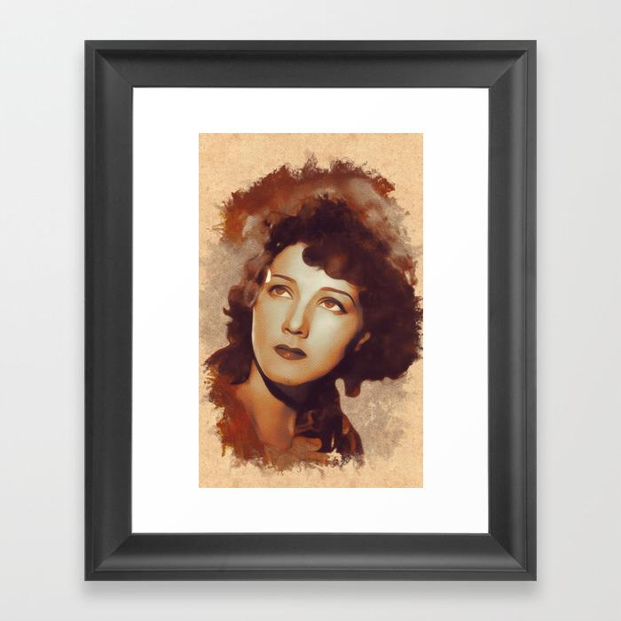 Jean Parker, Movie Legend Framed Art Print by Esotericaartagency FRM8792719