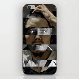 Courbet's The Desperate man & James Stewart iPhone Skin