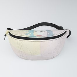 Covered nudity Fanny Pack
