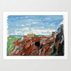 Cerro del Hierro Art Print