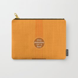 Stop pretending art is hard (orange) Carry-All Pouch