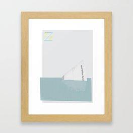 Operation Hennessey - The Life Aquatic w/ Steve Zissou Framed Art Print