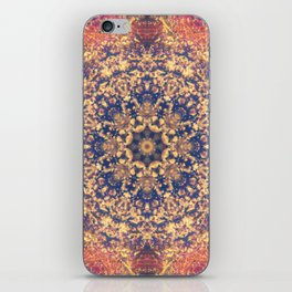 Distant Clouds Mandala iPhone Skin