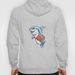 Funnny Easter Shark On Egg Hunt graphic | Shark Fans Gift Hoody