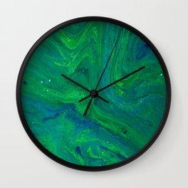 POUR ART 4 Wall Clock