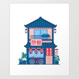 Ramen shop Art Print