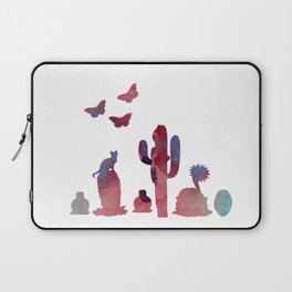Cacti and animals Laptop Sleeve