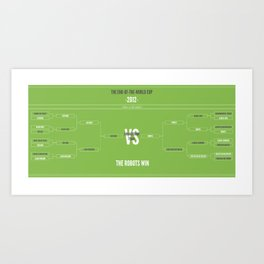 End of the World 2012 Art Print