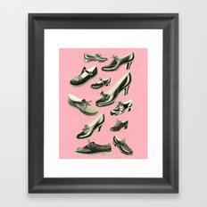 Shoe Fetish Framed Art Print