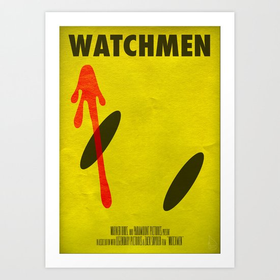 Watchmen - The Comedian Art Print