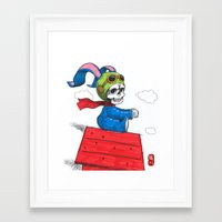 ace Framed Art Prints featuring ace by Norio Fujikawa