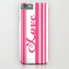 Barcode Love; Pink. Slim Case iPhone 6s
