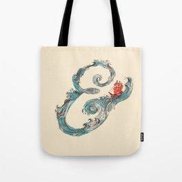 Water Ampesand Tote Bag