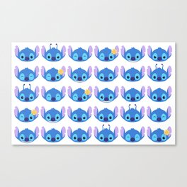 The Many Faces of Stitch Canvas Print