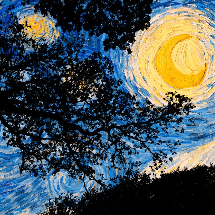 Starry Forest Night Comforters