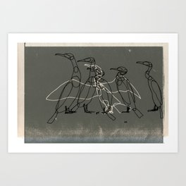 Agitation Art Print