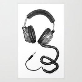 Headphone Culture Art Print