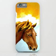 The Sun King - Thoroughbred Stallion iPhone 6s Slim Case