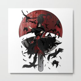 Itachi Uchiha Ability Metal Print