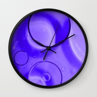 photograph Wall Clocks featuring Photograph by Brian Raggatt