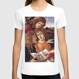 Sandro Botticelli - Angels 3. detail T-shirt