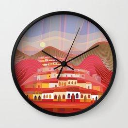 Michoacan Wall Clock