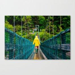 Fundy Footpath Canvas Print