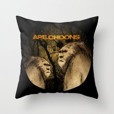 APE.CHOONS Logo Throw Pillow