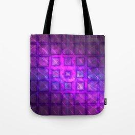 Celestial Rain Tiles Tote Bag