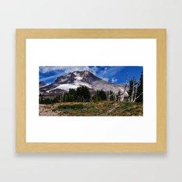 Landscape Mt. Hood Framed Art Print
