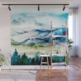 Mountain Landscape Wall Mural