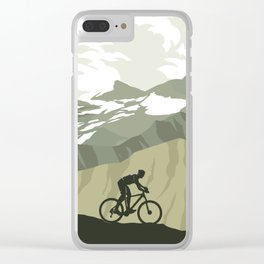 Trail Club III Clear iPhone Case