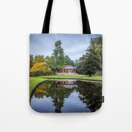 Surrounded by Autumn Tote Bag