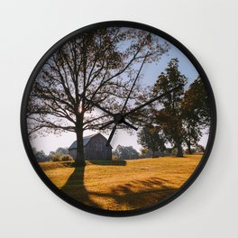 Kentucky Barn Wall Clock