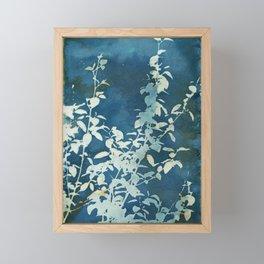Evening Blooms Framed Mini Art Print