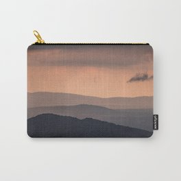 Blue Ridge Parkway Sunset - Shenandoah National Park Carry-All Pouch