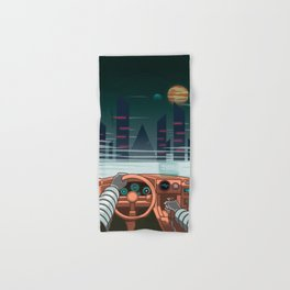 Night driver Hand & Bath Towel